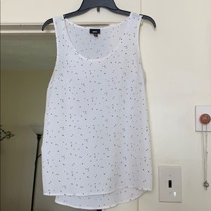 White dress or casual tank